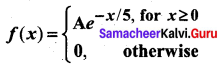 Samacheer Kalvi 12th Business Maths Solutions Chapter 6 Random Variable and Mathematical Expectation Ex 6.1 18