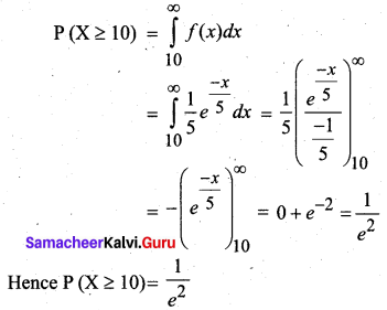 Samacheer Kalvi 12th Business Maths Solutions Chapter 6 Random Variable and Mathematical Expectation Ex 6.1 20