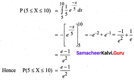 Samacheer Kalvi 12th Business Maths Solutions Chapter 6 Random Variable and Mathematical Expectation Ex 6.1 22