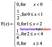 Samacheer Kalvi 12th Business Maths Solutions Chapter 6 Random Variable and Mathematical Expectation Ex 6.1 25