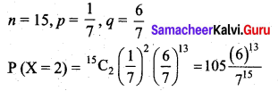 Samacheer Kalvi 12th Business Maths Solutions Chapter 7 Probability Distributions Additional Problems II Q4