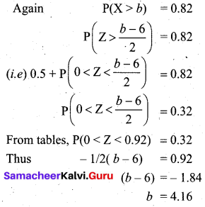 Samacheer Kalvi 12th Business Maths Solutions Chapter 7 Probability Distributions Additional Problems III Q7.2