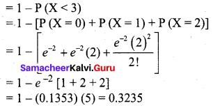 Samacheer Kalvi 12th Business Maths Solutions Chapter 7 Probability Distributions Ex 7.2 Q12