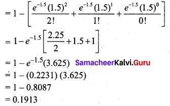 Samacheer Kalvi 12th Business Maths Solutions Chapter 7 Probability Distributions Ex 7.2 Q8