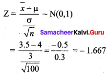 Samacheer Kalvi 12th Business Maths Solutions Chapter 8 Sampling Techniques and Statistical Inference Ex 8.2 Q14