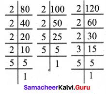 6th Maths Samacheer Kalvi