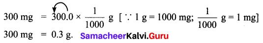 Samacheer Kalvi 6th Maths Solutions Term 2 Chapter 2 Measurements Ex 2.1 Q3