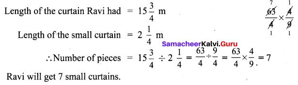 Samacheer Kalvi 6th Maths Solutions Term 3 Chapter 1 Fractions Ex 1.1 19