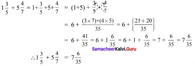 Samacheer Kalvi 6th Maths Solutions Term 3 Chapter 1 Fractions Ex 1.1 3