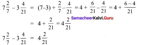 Samacheer Kalvi 6th Maths Solutions Term 3 Chapter 1 Fractions Ex 1.1 6