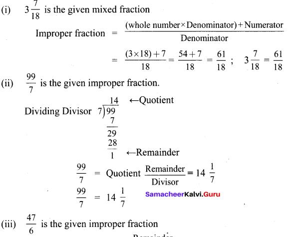 Samacheer Kalvi 6th Maths Solutions Term 3 Chapter 1 Fractions Ex 1.1 8