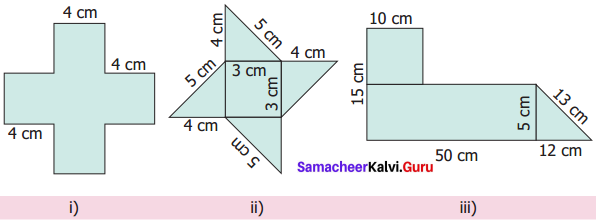 Samacheer Kalvi 6th Maths Solutions Term 3 Chapter 3 Perimeter and Area Ex 3.1 9