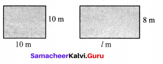 Samacheer Kalvi 6th Maths Solutions Term 3 Chapter 3 Perimeter and Area Ex 3.2 3