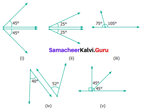 Samacheer Kalvi 6th Maths Term 1 Chapter 4 Geometry Ex 4.4 Q6