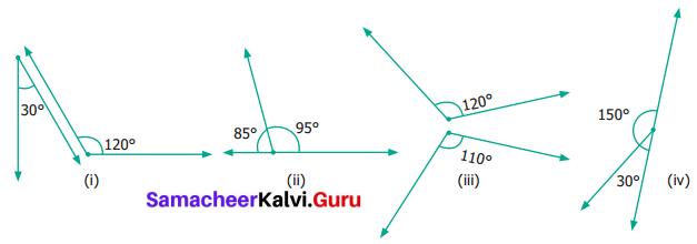 Samacheer Kalvi 6th Maths Term 1 Chapter 4 Geometry Ex 4.4 Q7