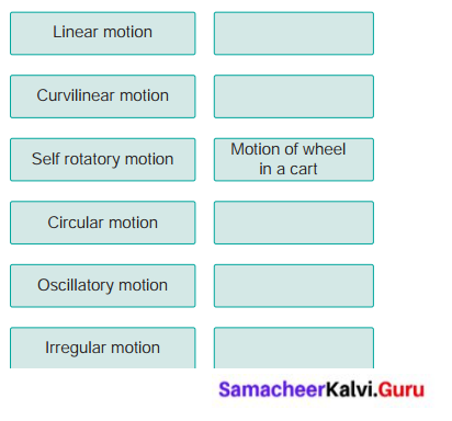 Samacheer Kalvi 6th Science Solutions Force And Motion
