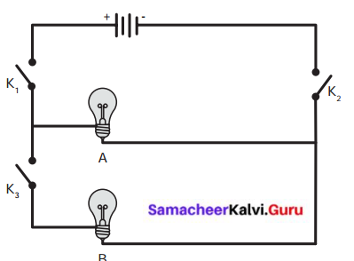 Samacheer Kalvi Guru 6th Standard Chapter 2 Electricity