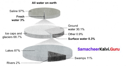 Samacheer Kalvi 6th Science Solutions Term 3 Chapter 2 Water 10