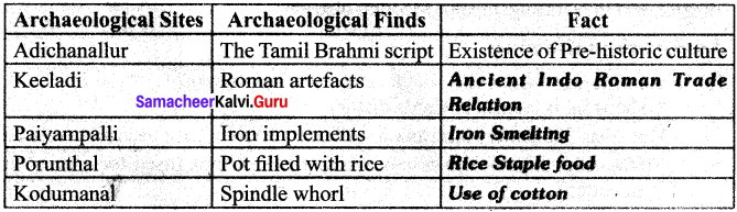 6th Social Book Back Questions And Answers Vedic Culture In North India And Megalithic Culture In South India