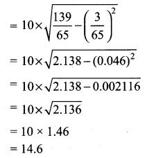 Samacheer Kalvi Class 10th Maths Solution Chapter 8 Statistics and Probability Ex 8.1 16