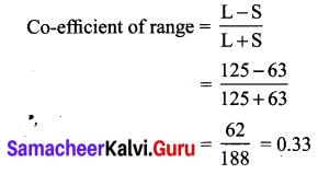 Samacheer Kalvi Guru 10th Maths Guide Chapter 8 Statistics and Probability Ex 8.1 2