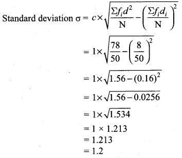 Samacheer Kalvi 10th Maths Exercise 8.1 Chapter 8 Statistics and Probability
