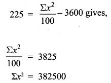 Samacheer Kalvi Class 10th Maths Ex 8.1 Solutions Chapter 8 Statistics and Probability