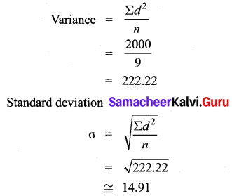 Samacheer Kalvi Guru 8th Maths Book Solutions Chapter 8 Statistics and Probability Ex 8.1 6