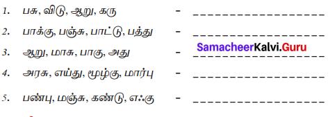 Samacheer Kalvi 7th Tamil Solutions Term 1 Chapter 1.5 குற்றியலுகரம், குற்றியலிகரம் - 00