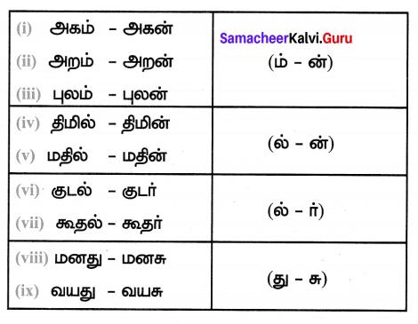Samacheer Kalvi 7th Tamil Solutions Term 1 Chapter 3.5 வழக்கு - 1