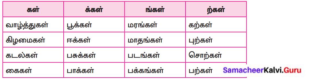 Samacheer Kalvi 8th Tamil Solutions Chapter 1.5 ஏழுத்துகளின் பிறப்பு 2