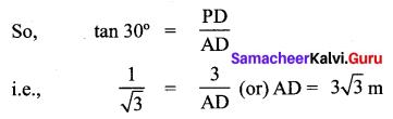 Samacheer Kalvi 10th Maths Solutions Chapter 6 Trigonometry Additional Questions 11