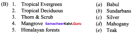 Samacheer Kalvi 10th Social Science Geography Solutions Chapter 2 Climate and Natural Vegetation of India 26