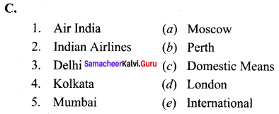 Samacheer Kalvi 10th Social Science Geography Solutions Chapter 5 India Population, Transport, Communication, and Trade 82