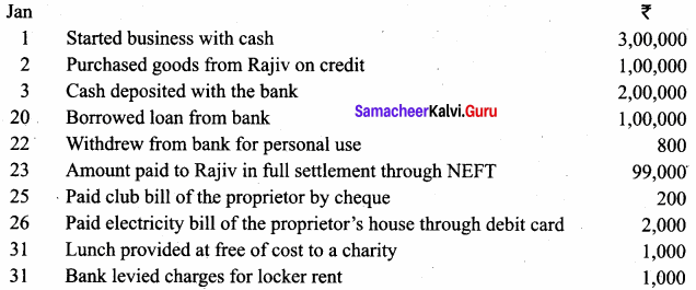 Samacheer Kalvi 11th Accountancy Solutions Chapter 3 Books of Prime Entry 25