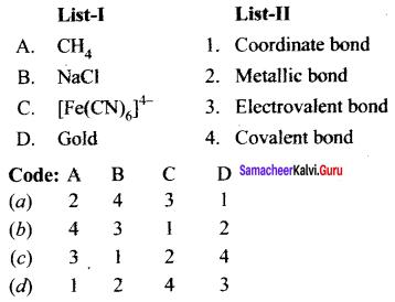 Samacheer Kalvi 11th Chemistry Solutions Chapter 10 Chemical Bonding-76