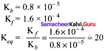 Samacheer Kalvi 11th Chemistry Solutions Chapter 8 Physical and Chemical Equilibrium-110