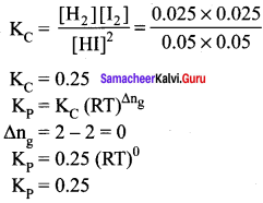 Samacheer Kalvi 11th Chemistry Solutions Chapter 8 Physical and Chemical Equilibrium-168