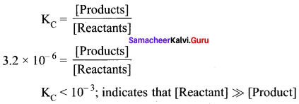 Samacheer Kalvi 11th Chemistry Solutions Chapter 8 Physical and Chemical Equilibrium-123