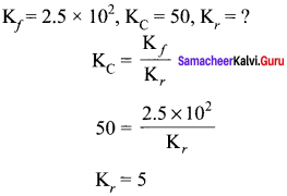 Samacheer Kalvi 11th Chemistry Solutions Chapter 8 Physical and Chemical Equilibrium-133