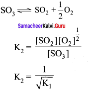 Samacheer Kalvi 11th Chemistry Solutions Chapter 8 Physical and Chemical Equilibrium-137