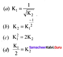 Samacheer Kalvi 11th Chemistry Solutions Chapter 8 Physical and Chemical Equilibrium-112