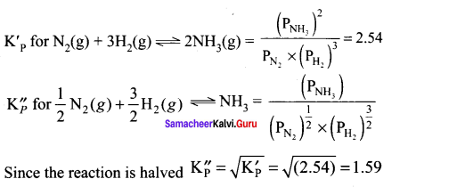 Samacheer Kalvi 11th Chemistry Solutions Chapter 8 Physical and Chemical Equilibrium-37