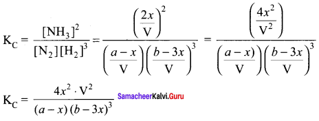 Samacheer Kalvi 11th Chemistry Solutions Chapter 8 Physical and Chemical Equilibrium-152