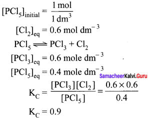 Samacheer Kalvi 11th Chemistry Solutions Chapter 8 Physical and Chemical Equilibrium-159