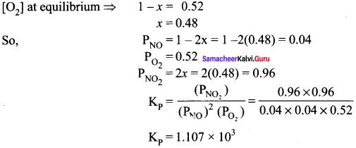 Samacheer Kalvi 11th Chemistry Solutions Chapter 8 Physical and Chemical Equilibrium-165