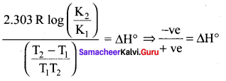 Samacheer Kalvi 11th Chemistry Solutions Chapter 8 Physical and Chemical Equilibrium-116