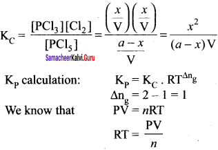 Samacheer Kalvi 11th Chemistry Solutions Chapter 8 Physical and Chemical Equilibrium-94