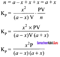 Samacheer Kalvi 11th Chemistry Solutions Chapter 8 Physical and Chemical Equilibrium-95