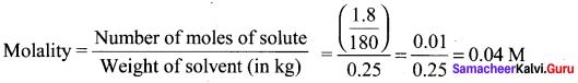 Samacheer Kalvi 11th Chemistry Solutions Chapter 9 Solutions-1